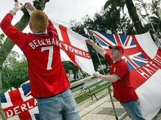 Na Portugalsko bodo najbolj množično romali angleški navijači.
