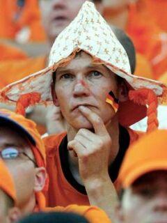 Nizozemski navijači so pred srečanjem z Latvijo zavedajo, da ni vse odvisno le od njihove reprezentance.
