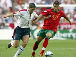 Angleži niso dovolili Cristianu Ronaldu, da se razigra