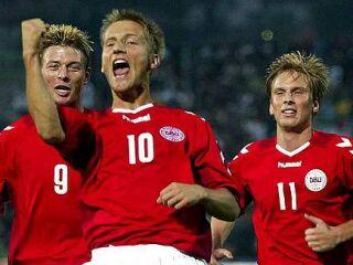 Tomasson, Jörgensen in Poulsen, nepogrešljivi člani danske reprezentance.