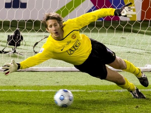 Edwin van der Sar je v dresu Ajaxa mrežo najdlje nedotaknjeno ohranil 846 minut. Foto: EPA
