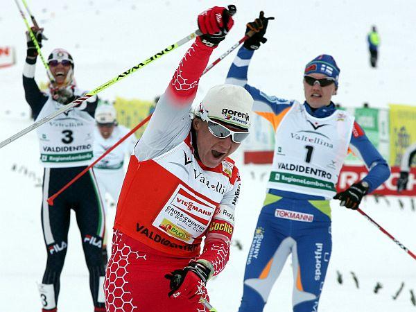 Petra Majdič je dosegla 12. zmago v karieri. Foto: EPA