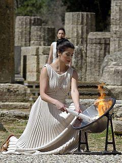 Olympia in ogenj