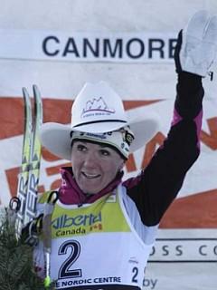 Petra Majdič je zmagala šestič v karieri. Foto: EPA