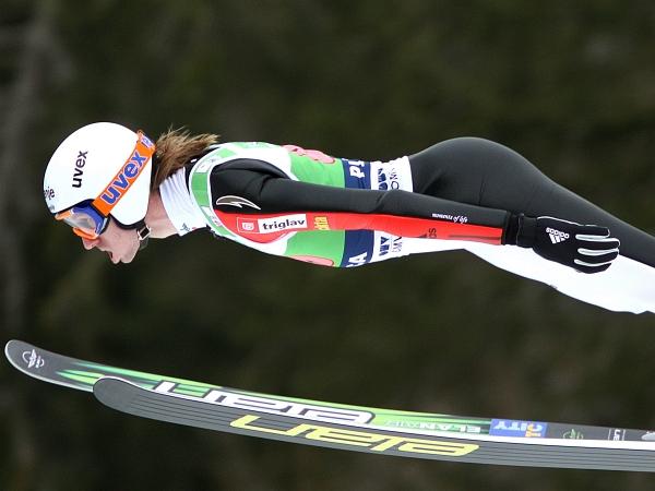 Primož Pikl je na treningu skakal zelo solidno. Foto: EPA