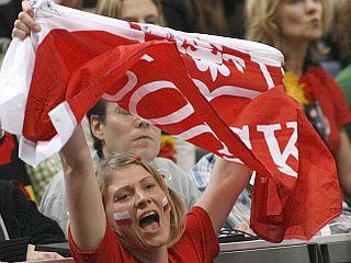 Poljska navijačica