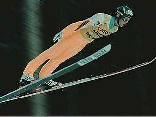 Primož Peterka se je bliskovito povzpel med najboljše na svetu in že v najstniških letih okusil vso slavo. Sledilo so padec in ponoven vzpon ter zmaga na tekmi novoletne turneje leta 2003 in dve ekipni medalji z velikih tekmovanj. Foto: EPA