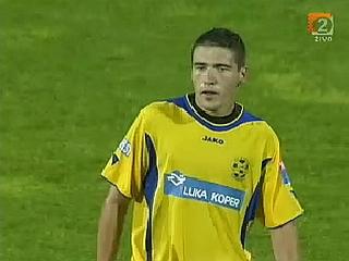 Aleksandar Rajčevič je dosegel najpomembnejši gol v karieri. Foto: RTV SLO