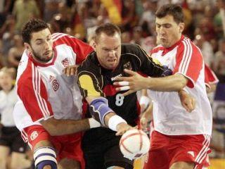 Christian Schwarzer ni našel poti skozi robustno hrvaško obrambo.