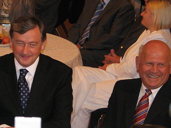 Danilo Türk in Janez Kocijančič