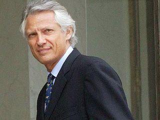 Francoski premier Dominique de Villepin