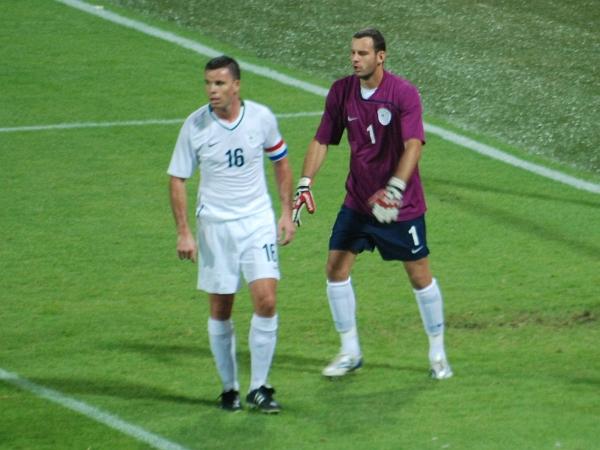 Anton Žlogar in Samir Handanovič