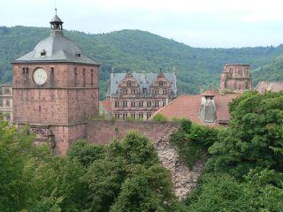 Univerzitetno mesto Heidelberg, kjer je nekaj časa deloval tudi J. W. Göthe. Foto: RTV SLO