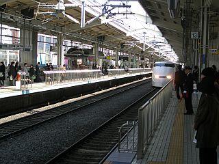 Železniška postaja v Kjotu