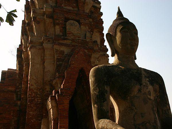 Prebivalci Ajutaje so ponosni na svojo dediščino: gre za kraj čudovitih templjev, bleščečih palač in brezčasnih umetnin. Poleg vladarjev, plemstva in menihov so v Ajutaji in okolici stoletja prebivali tudi kmetovalci, ki so obdelovali polja. Foto: MMC RTV SLO/Maja Omrčen