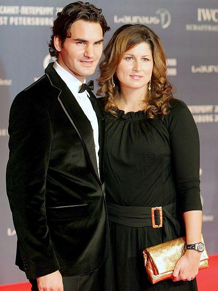 Roger Federer in Mirka Vavrinec