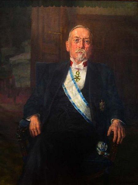 Ivana Hribarja (1851-1941) je mogoče opisati z veliko besedami. Med drugim je bil velik domoljub in zavzet, strasten politični delavec, pa tudi bančnik, diplomat in literat. Foto: Wikipedia