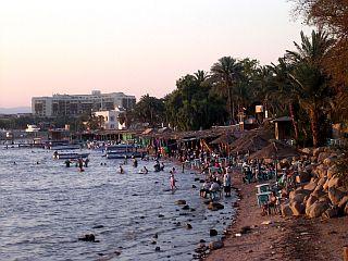Javna plaža v Akabi