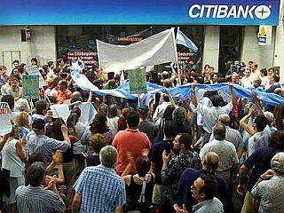 Protesti v Argentini