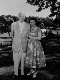 Dwight in Mamie sta se poročila leta 1916. Foto: