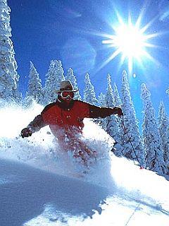 Rocky Mountains slovijo po svojem enkratnem powderju (pršiču). Foto: