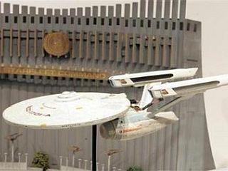 Model vesoljske ladje Enterprise