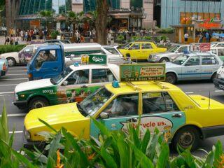 Prometni vsakdan v Singapuru
